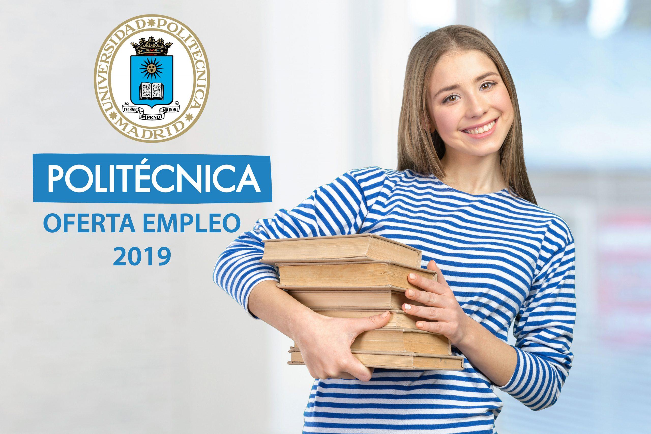 Oferta de empleo 2019 Universidad Politécnica.