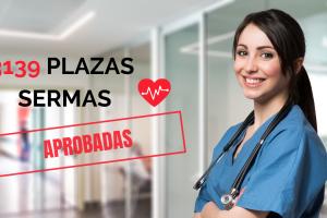 3139 plazas ope sanidad sermas