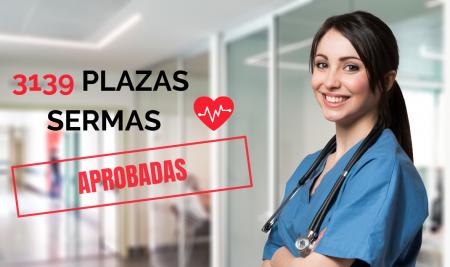 Aprobada la Oferta de empleo de Sanidad 2019 de Madrid