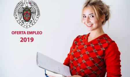Oferta empleo 2019 Universidad Complutense