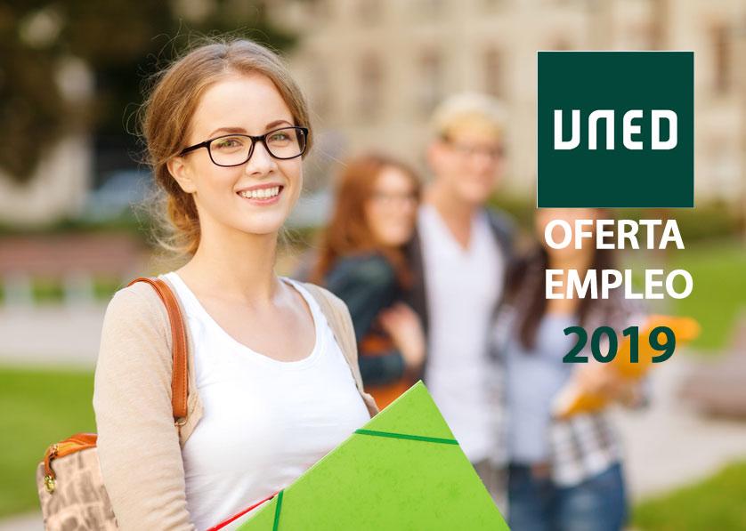 Oferta de empleo de la Universidad Nacional a distancia UNED