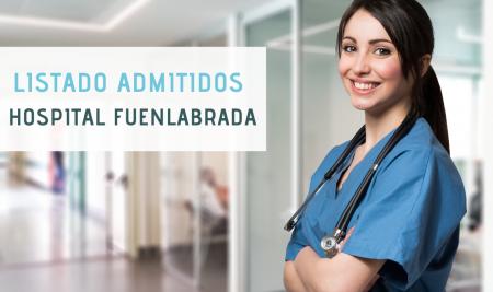 Listado definitivo admitidos OPE Hospital Universitario de Fuenlabrada