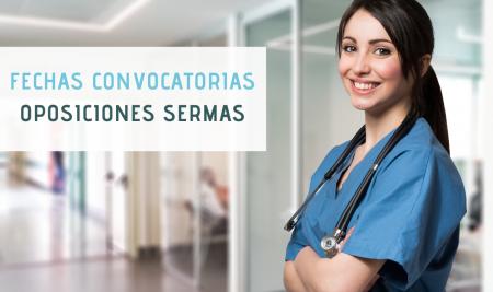 Fechas convocatorias oposiciones Servicio Madrileño de Salud (SERMAS)