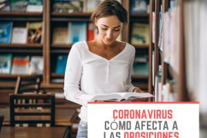 coronavirus como afecta a las oposiciones