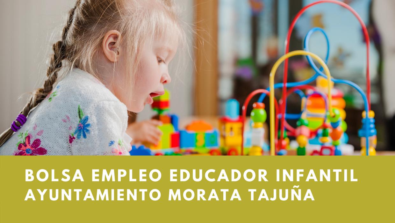 Bolsa empleo educadores infantiles ayuntamiento morata tajuna