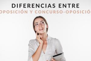 diferencias entre oposición y concurso-oposición