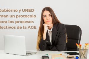 El Gobierno y la UNED firman un protocolo para llevar a cabo los procesos selectivos de la AGE