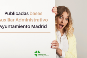 bases auxiliar administrativo ayto madrid
