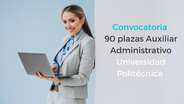 Convocatoria Auxiliar Administrativo UPM
