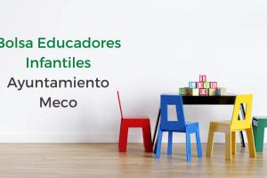 bolsa educadores infantiles ayuntamiento Meco