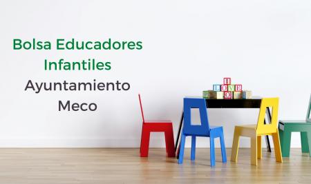 Bolsa Educadores Infantiles Ayuntamiento de Meco