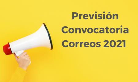 Previsión Convocatoria Oposiciones Correos