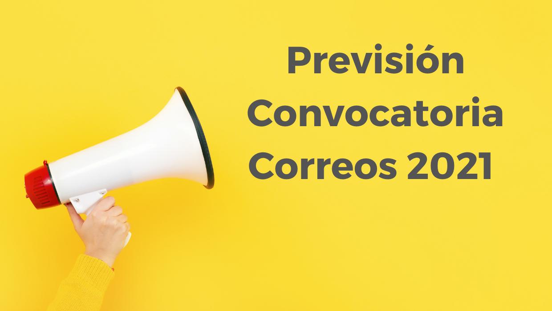inminente convocatoria oposiciones Correos 2021