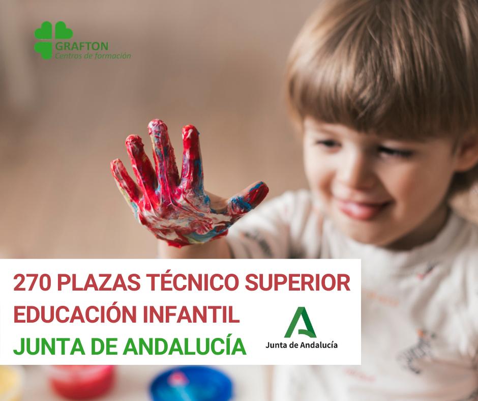 270 plazas tecnico educacion infantil junta de andalucia