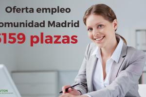 OFERTA EMPLEO COMUNIDAD DE MADRID 2020
