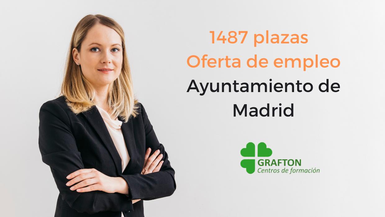 oferta de empleo público ayuntamiento de madrid año 2020