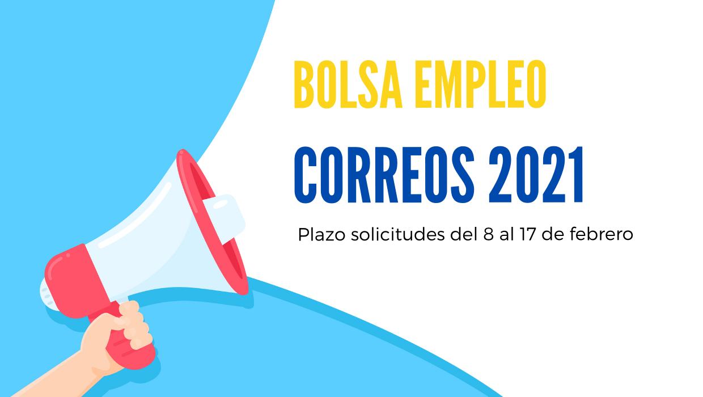 bolsa empleo Correos 2021