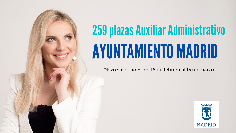 Oposición Auxiliar Administrativo del Ayuntamiento de Madrid