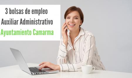 Bolsas Auxiliar Administrativo Ayuntamiento de Camarma de Esteruelas