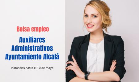 Bolsa empleo Auxiliar Administrativo Ayuntamiento Alcalá de Henares