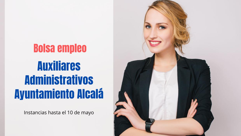 Lista espera interinos Auxiliar Administrativo Ayuntamiento de Alcalá
