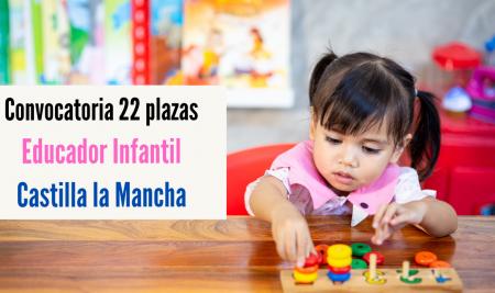 Convocatoria Técnico Superior Educación Infantil Castilla la Mancha
