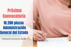 El Gobierno publicará la convocatoria para más de 10200 plazas el próximo viernes