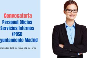 convocatoria POSI Ayuntamiento de Madrid