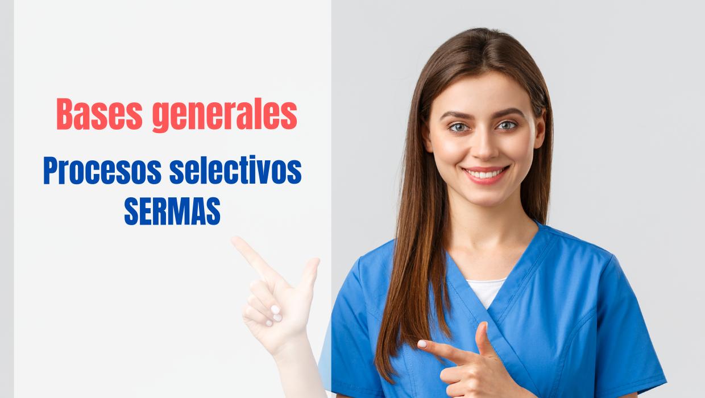 bases generales procesos selectivos Servicio Sanidad Madrid