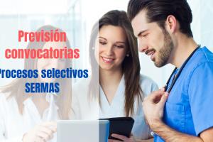 prevision convocatorias oposiciones SERMAS