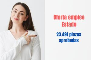 OEP estado 2021. 23491 plazas.