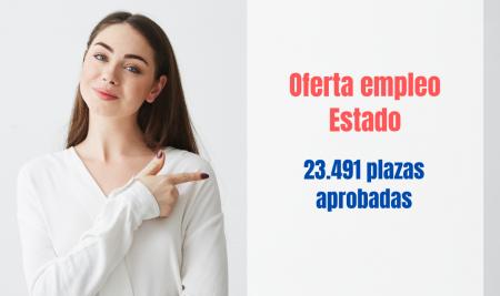 Aprobada la mayor oferta de empleo público del Estado