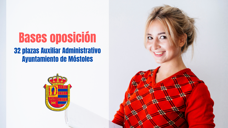 bases oposicion Auxiliar Administrativo Ayto móstoles