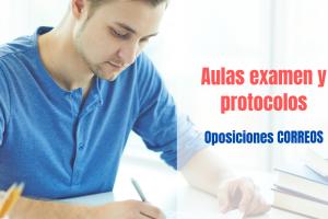 aulas y protocolos examen oposiciones Correos