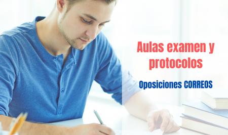 Publicadas las aulas de examen y protocolos para las oposiciones de Correos